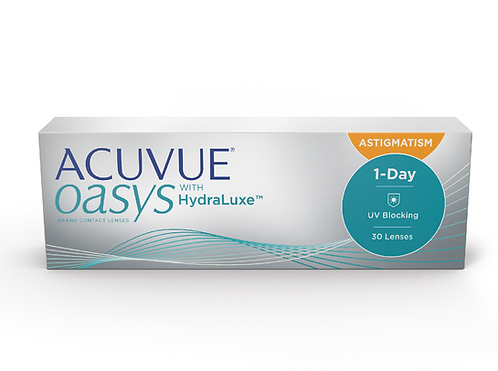 Acuvue Oasys 1-Day for Astigmatism 30 Pk