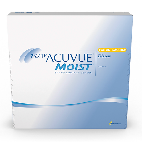 1-Day Acuvue Moist For Astigmatism 90 Pk