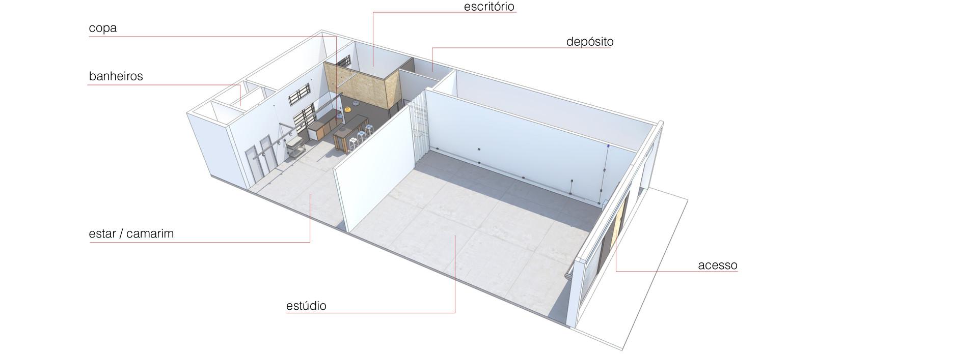Projeto - esquema 3D