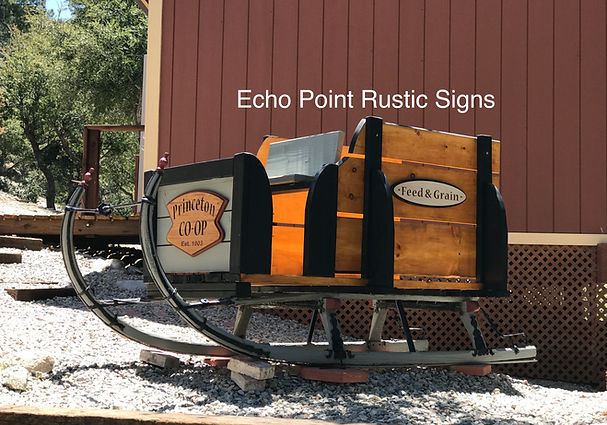 Echo Point Rustic Signs