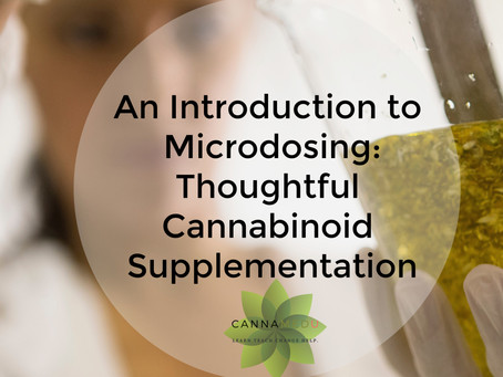 I Can Customize My Cannabinoids?!  An Introduction to Microdosing.