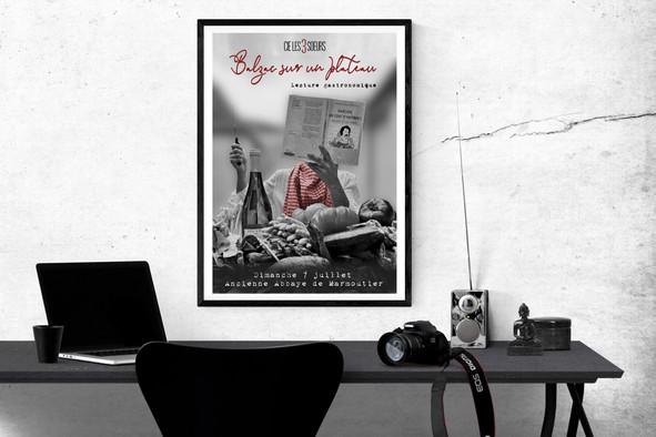 Affiche pour la Compagnie Les 3 Soeurs