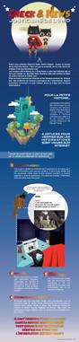 Illustration - Infographie - Les Fake News expliquées aux enfants en classe de CM2