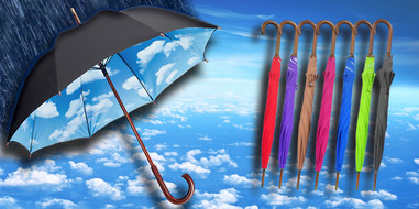 COPEC BLUE SKY UMBRELLA