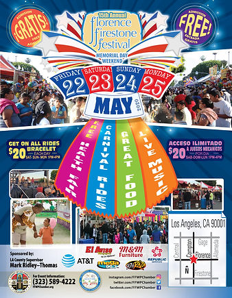 15th Annual Florence Firestone Festival