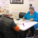Citizens playing bingo