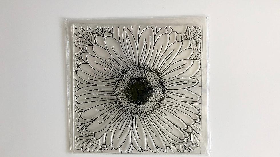 Stamp Daisy Flower