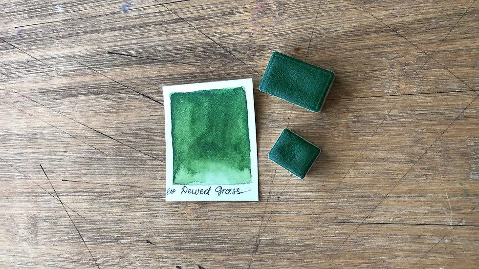 DEWED GRASS Handmade Watercolor Paint
