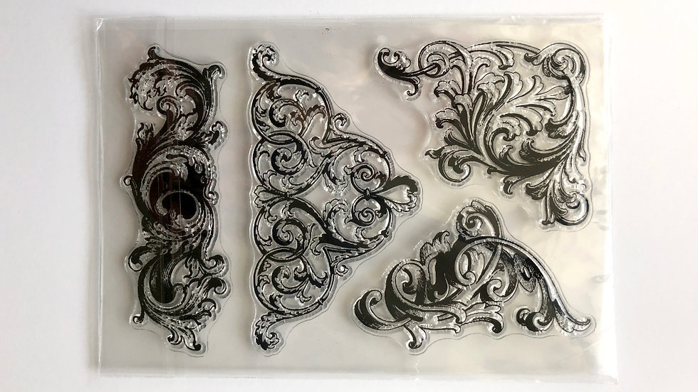 copy of Stamp Set of four Ornate 01