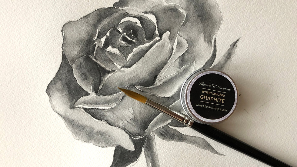 Water-soluble GRAPHITE