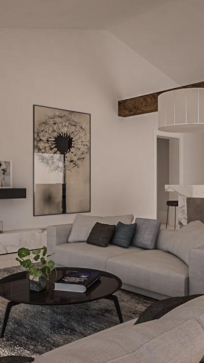 Contemporary - Modern Living Room