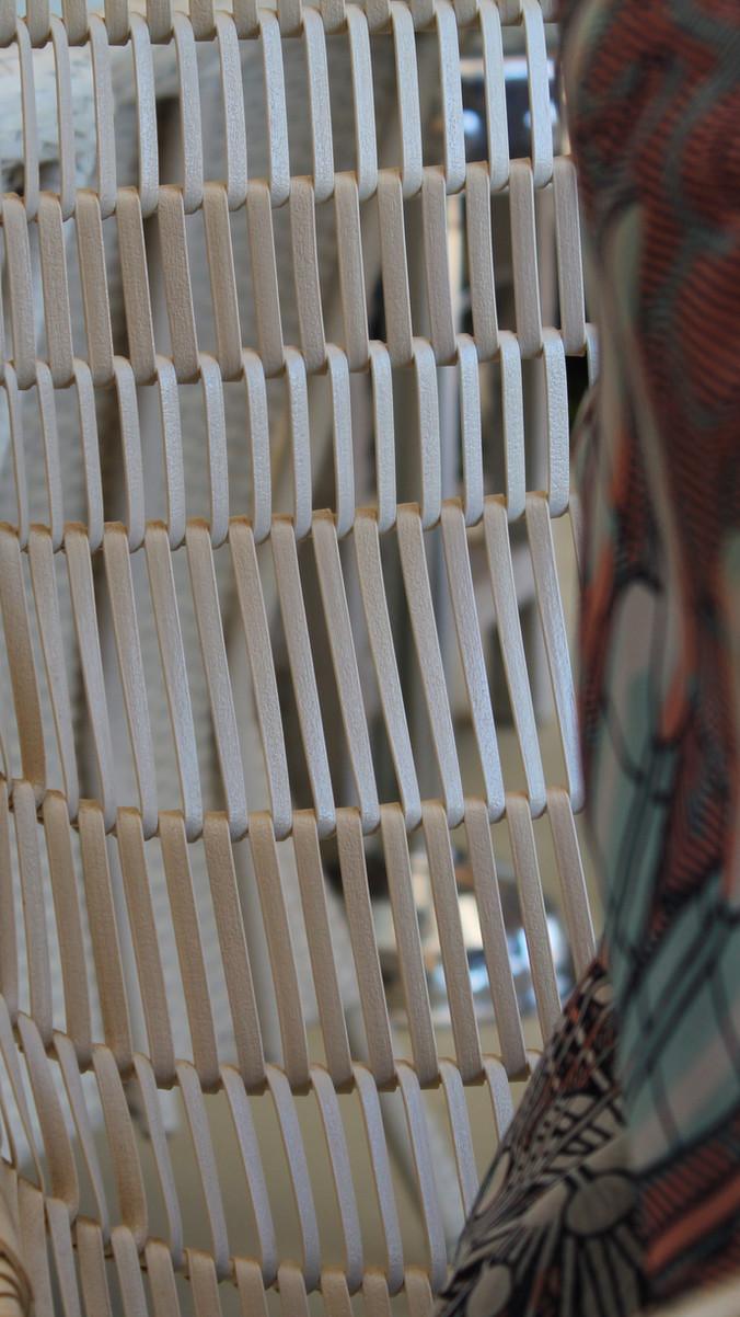 Wooven Lattice chair _ Urbane