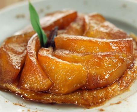 Pommes caramélisées à la poêle