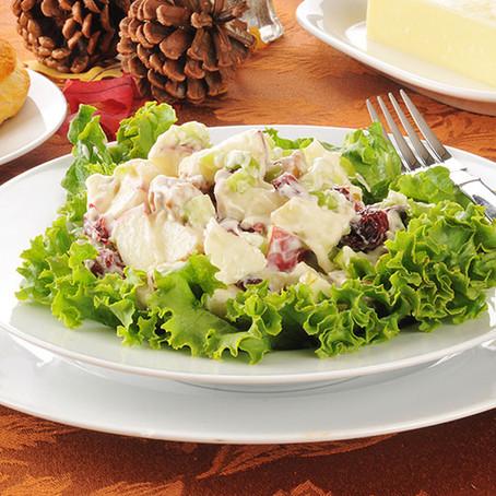 Salade Waldorf avec pomme et poire