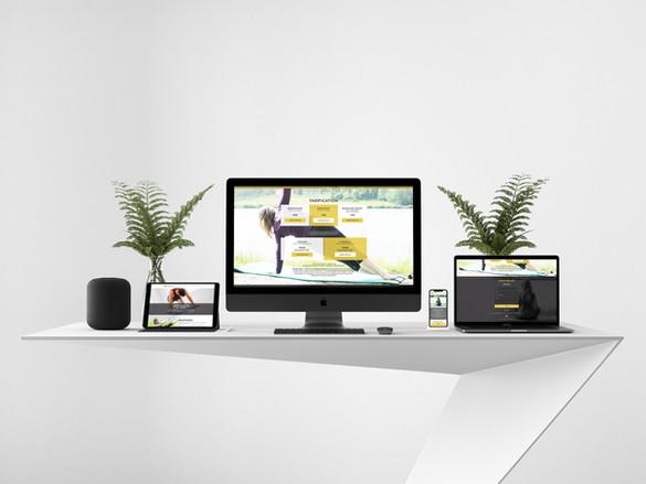 Forme Pilates - site web
