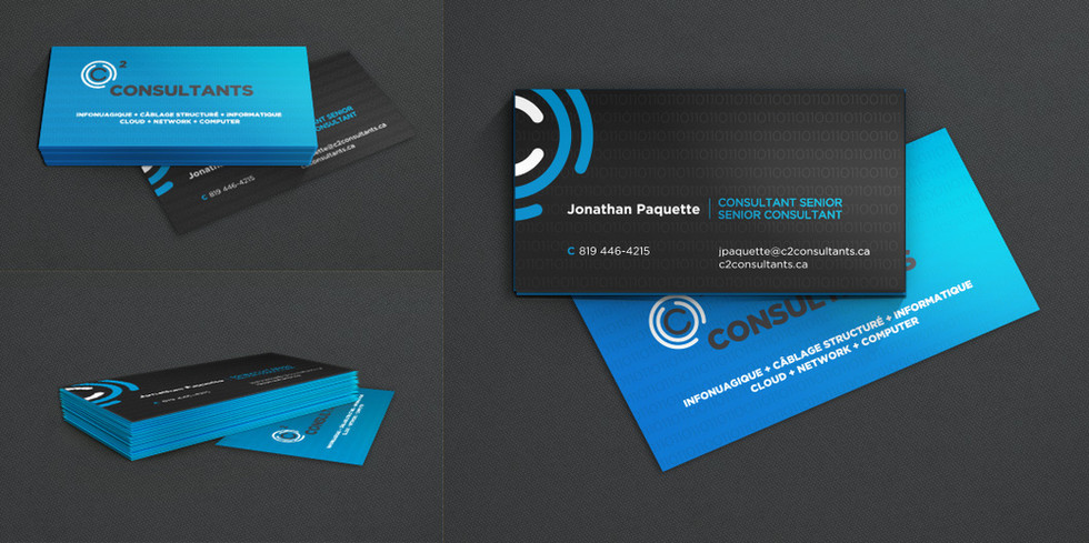 Cartes d'affaires :: Imprimé sur carton 28 pt Laminé Soft Touch Tranche de couleur Vernis sélectif sur l'icône du logo