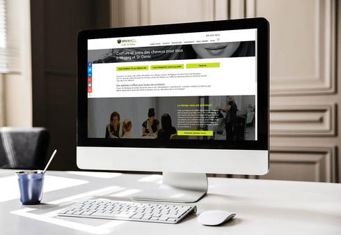 Site web - Coiffure