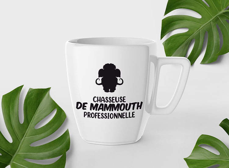 Décalque - Chasseuse de Mammouth