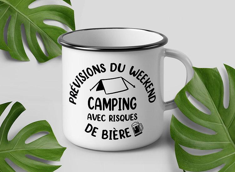 Décalque - Prévisions du weekend : Camping avec risques de bière