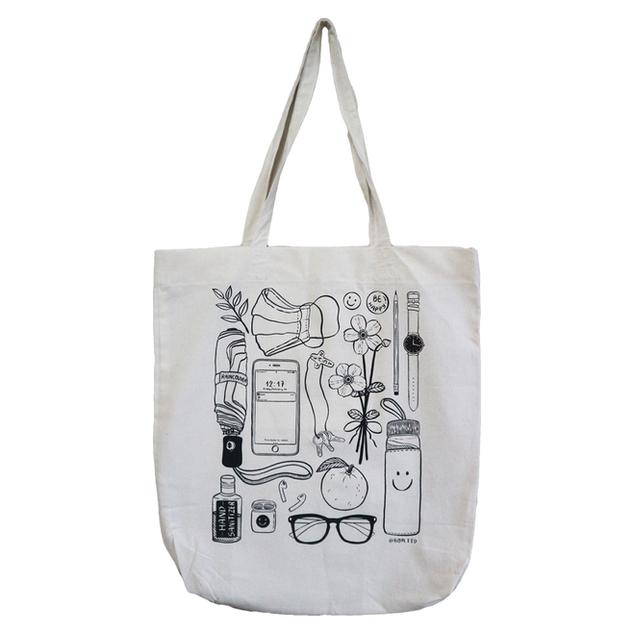 In My Bag - tote  Edition of 8  Medium: silkscreen 2020