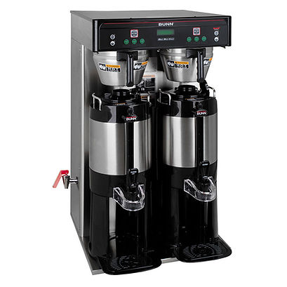 Commercial coffee brewer for coffee service