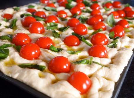 Focaccia self on and make some bread
