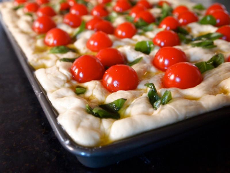 Tomato and Herb Focaccia
