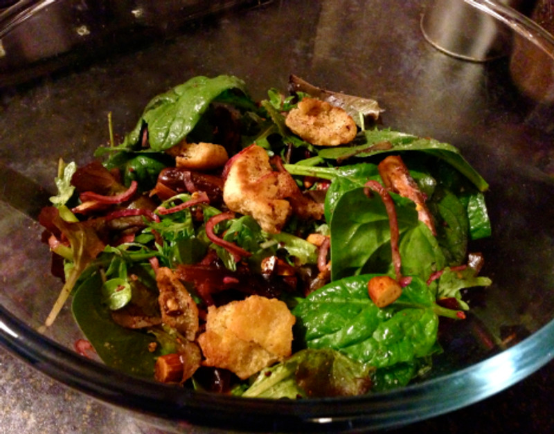 Spinach Salad 3