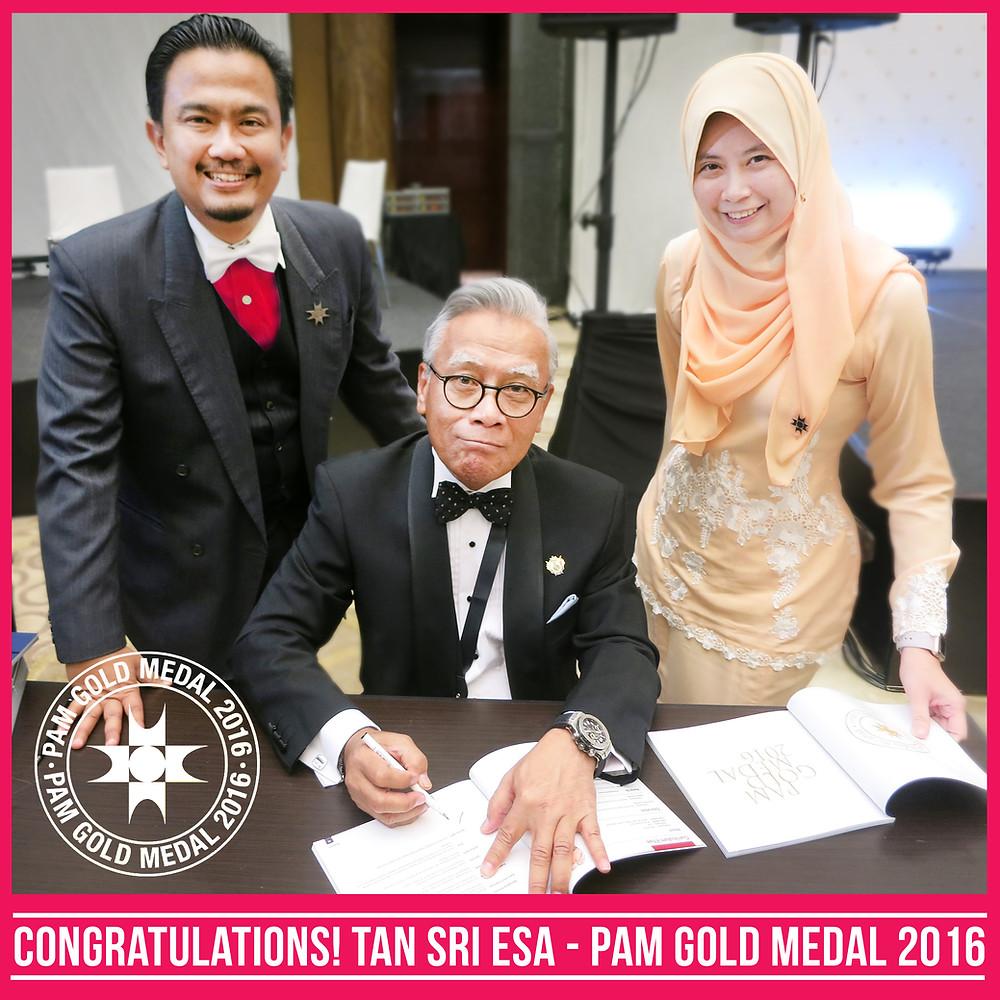 PAM Gold Medal Winner
