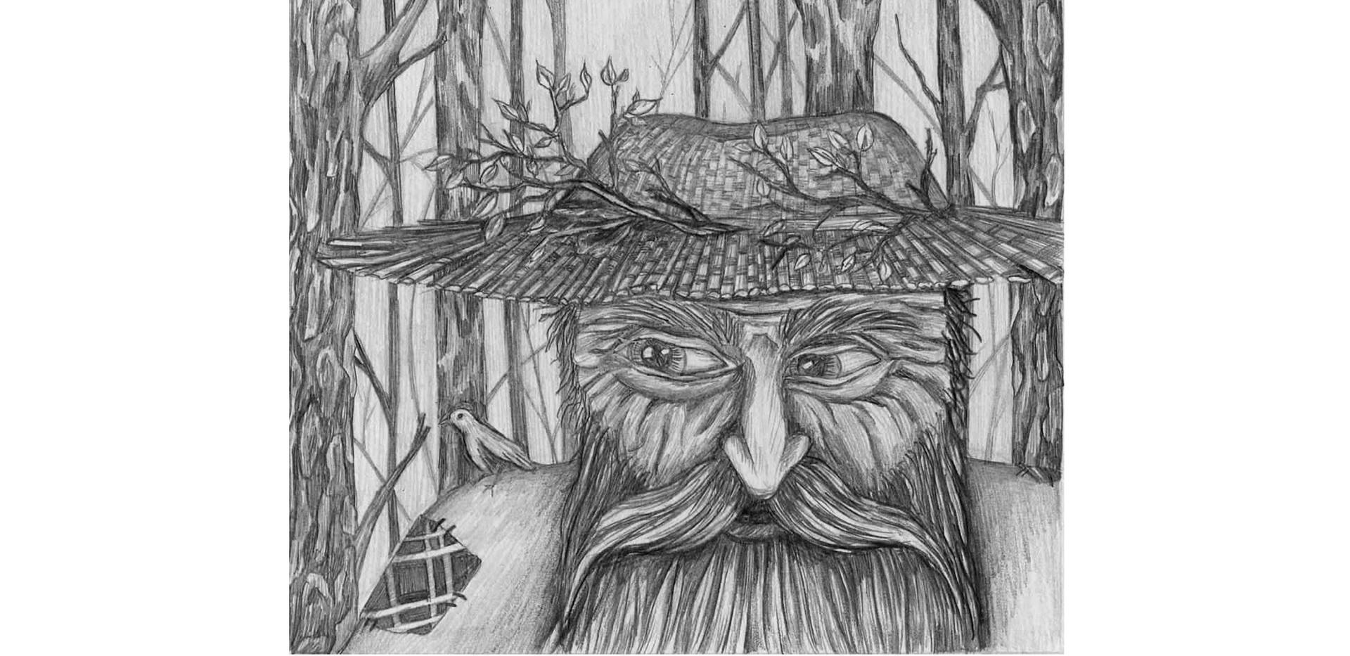 Folklore character- Leshy