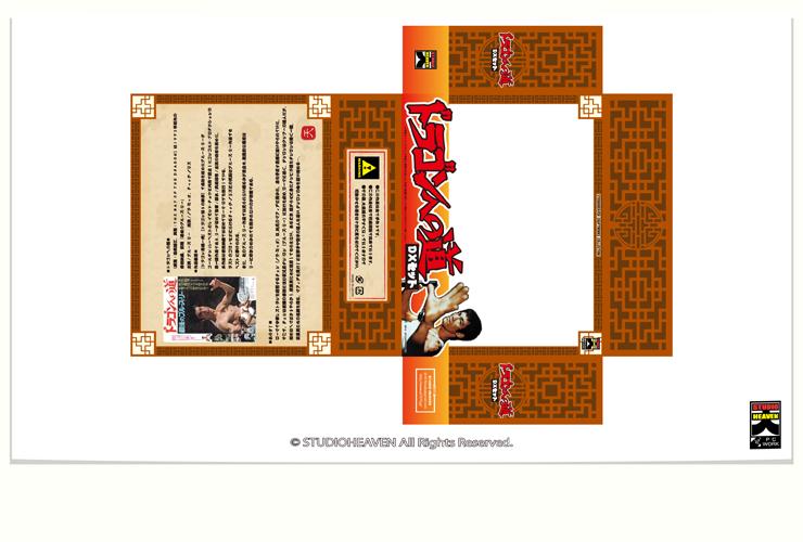 ドラゴンへの道パッケージ / original package06