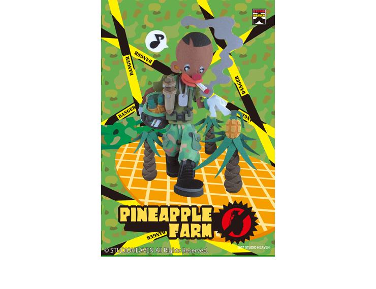 パイナップル畑 / Pineapple farm