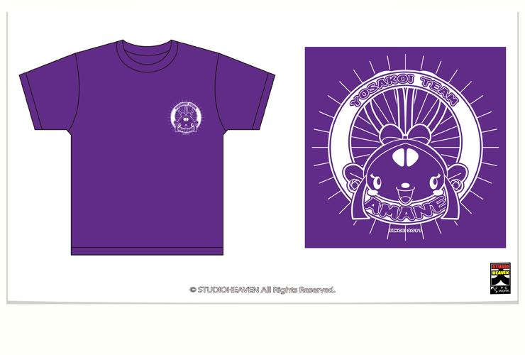 天舞音Tシャツデザイン表 / Original Tーshirt F