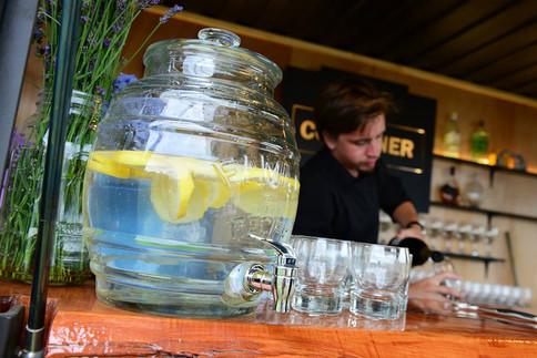 Serving Drinks Dublin Bay
