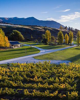 Autumn Kinross sunset property  drone Tr