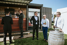 Wedding Guests Container Bar Wanaka