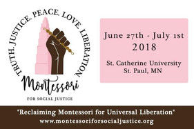 montessori for social justice conference 2018 recap