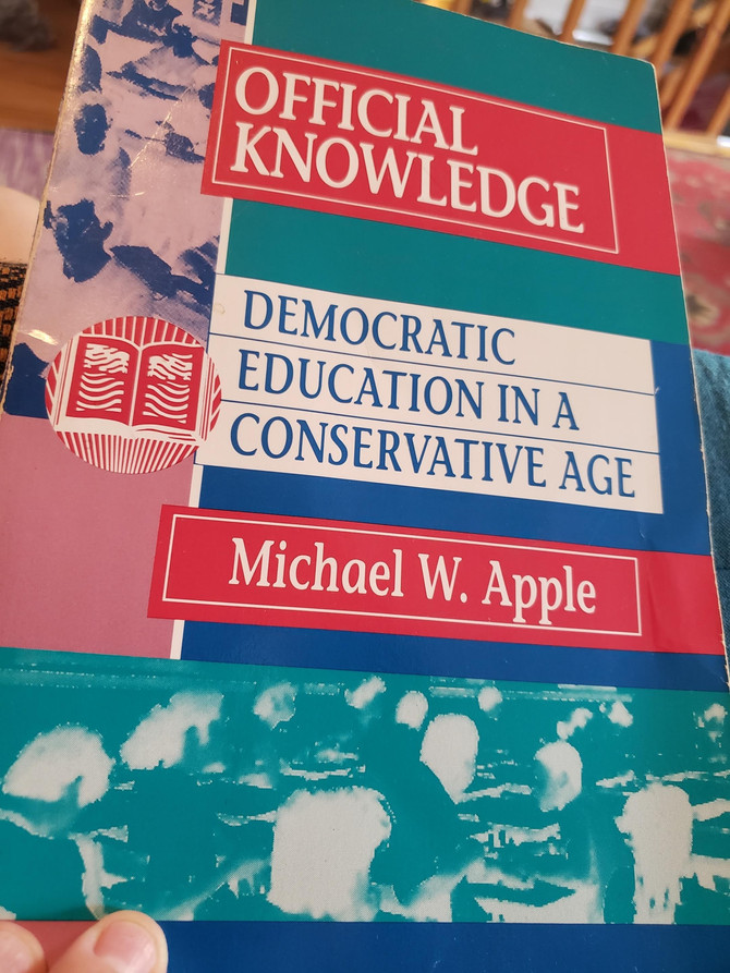 official knowledge: democratic education in a conservative age by michael apple