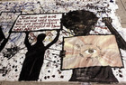 Write about this!: Protest Art