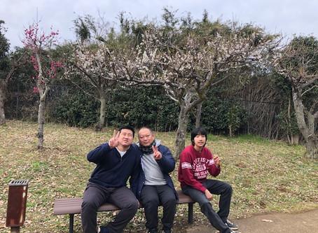 ちょっくら梅を見に行ってきまε≡≡ヘ( ´Д`)ノす!