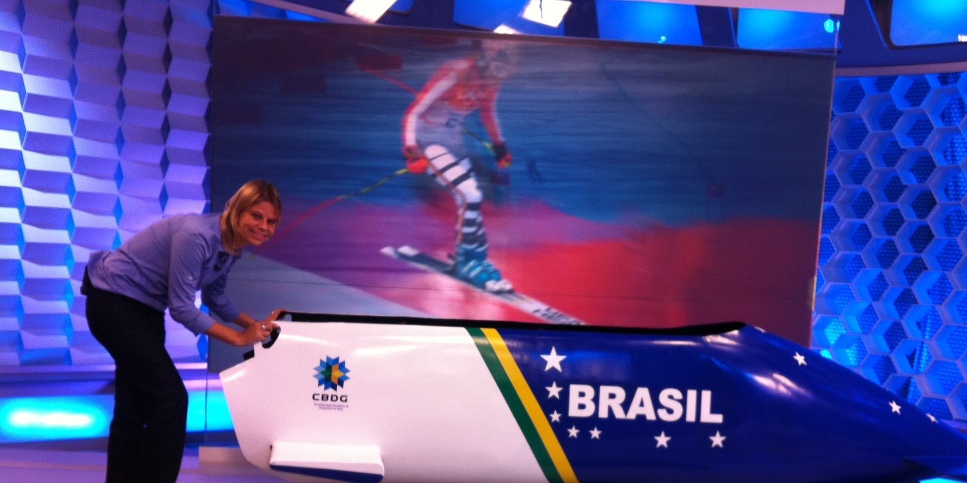 Commentating the Sochi 2014 Olympic Winter Games for TV GLOBO
