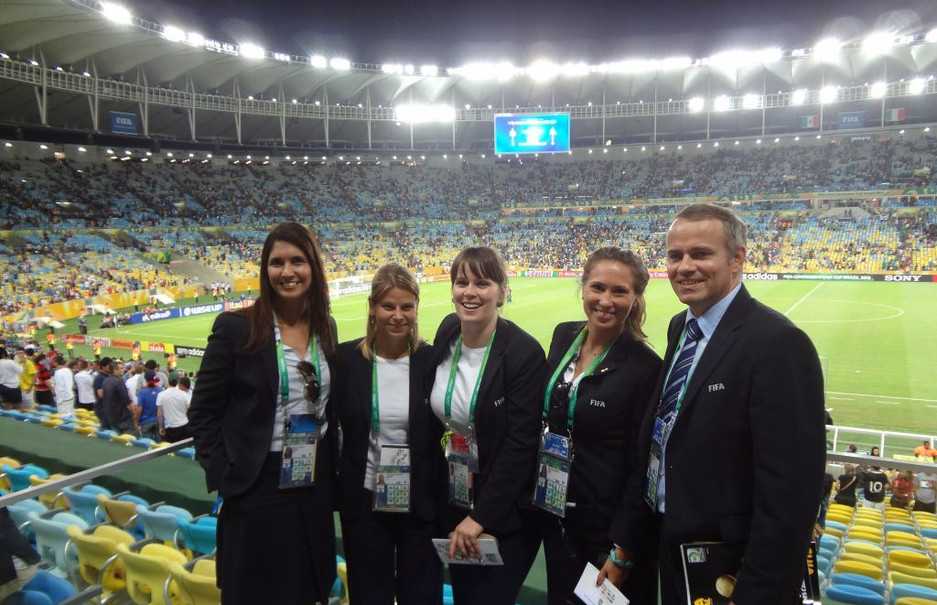 With my FIFA colleagues
