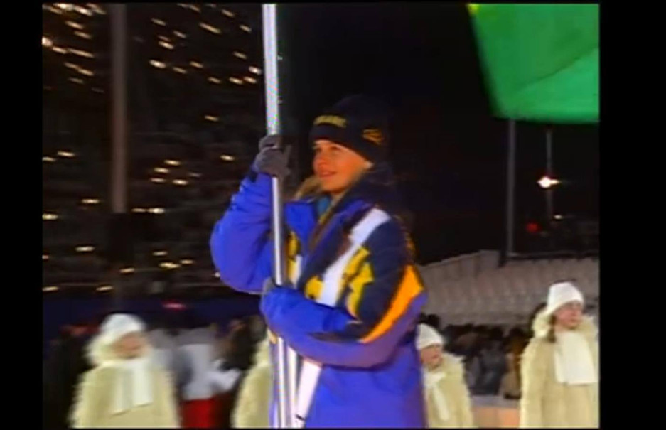 At 18 years old in my first Olympics