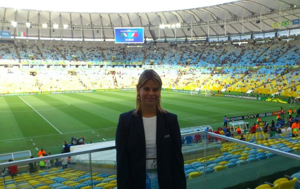 Working for the 2014 FIFA World Cup