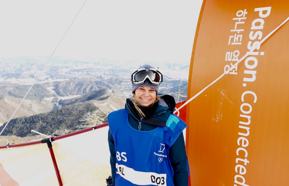 Working for OBS at the PyeongChang 2018 Olympic Winter Games