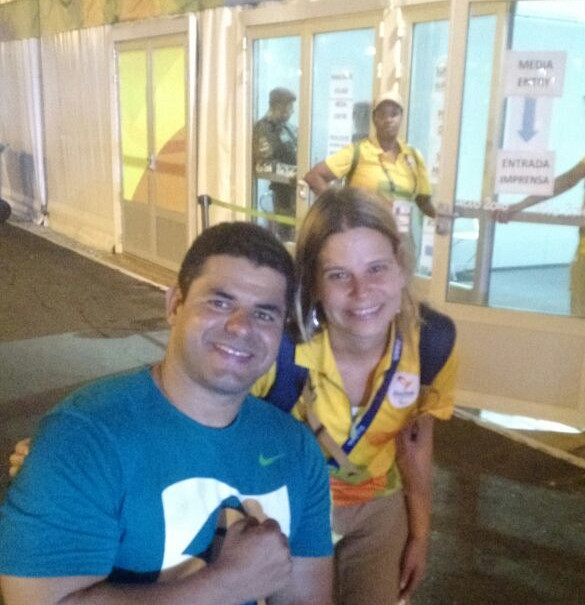 Working at the 2016 Rio Paralympic Games