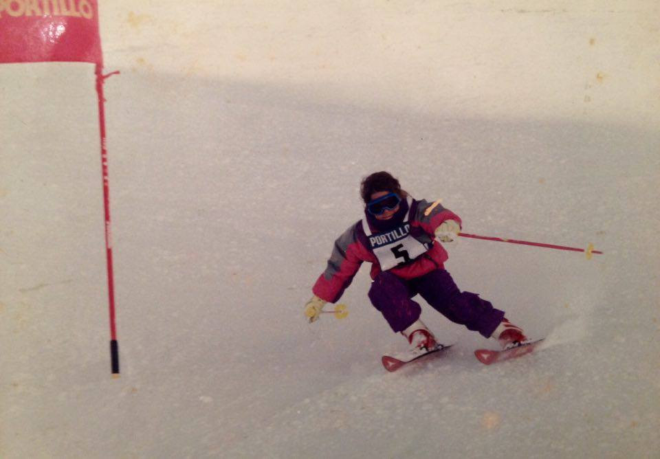 Competing in Chile at 8 years old