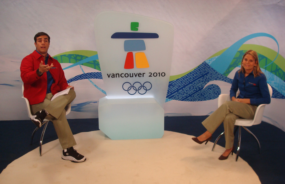 Commentating the Vancouver 2010 Olympic Winter Games for SPORTV