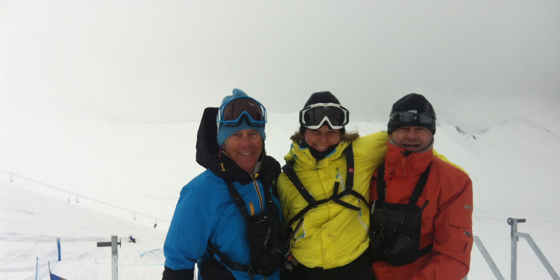 Working for the Snowboard South American Continental Cups Organizing Committee