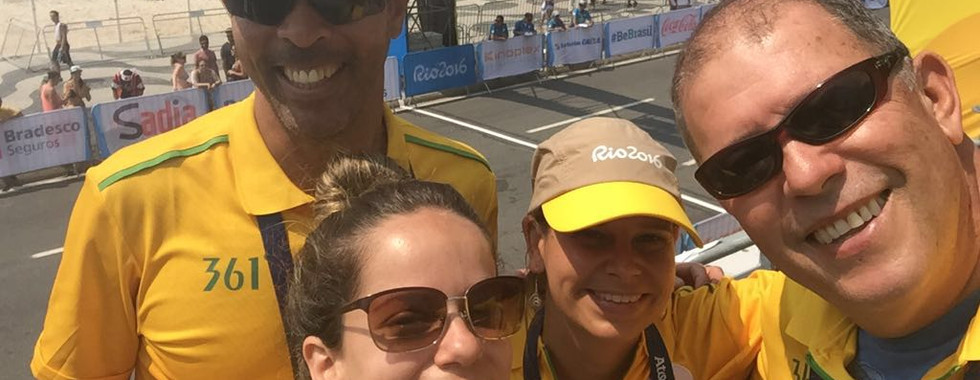 Working at the 2016 Rio Olympic and Paralympic Games
